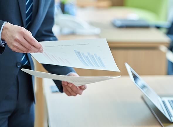 税務に関する業務、調査・申請などは専門家にお任せください。